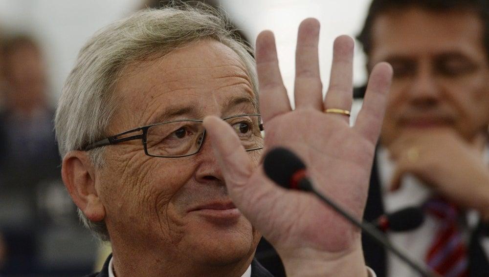 Jean-Claude Juncker, presidente de la CE