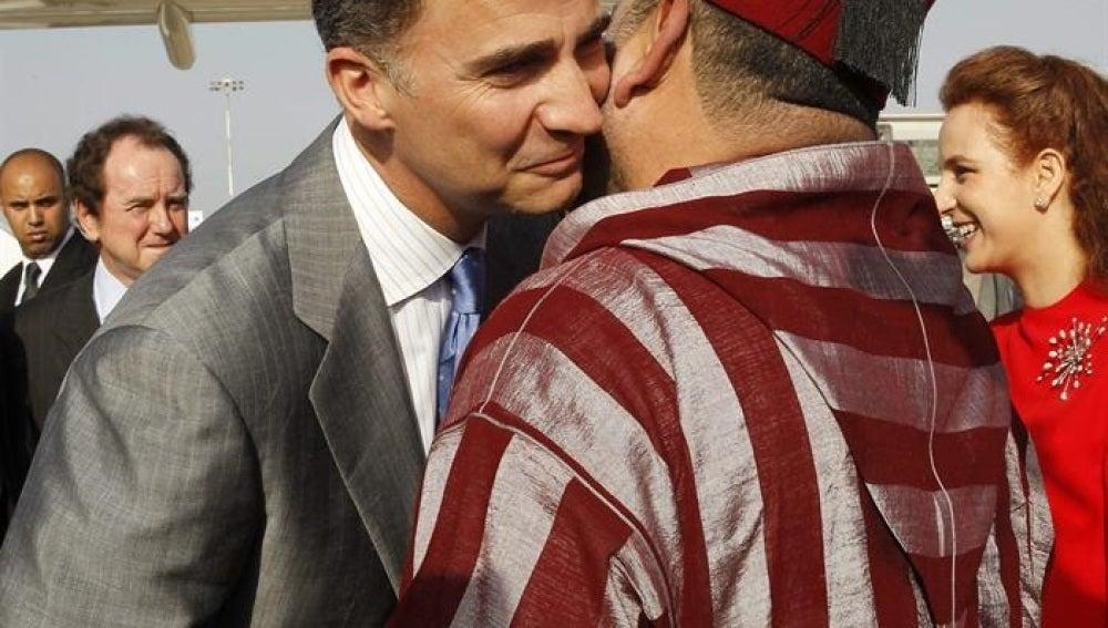 Despedida FelipeVI y Mohamed VI