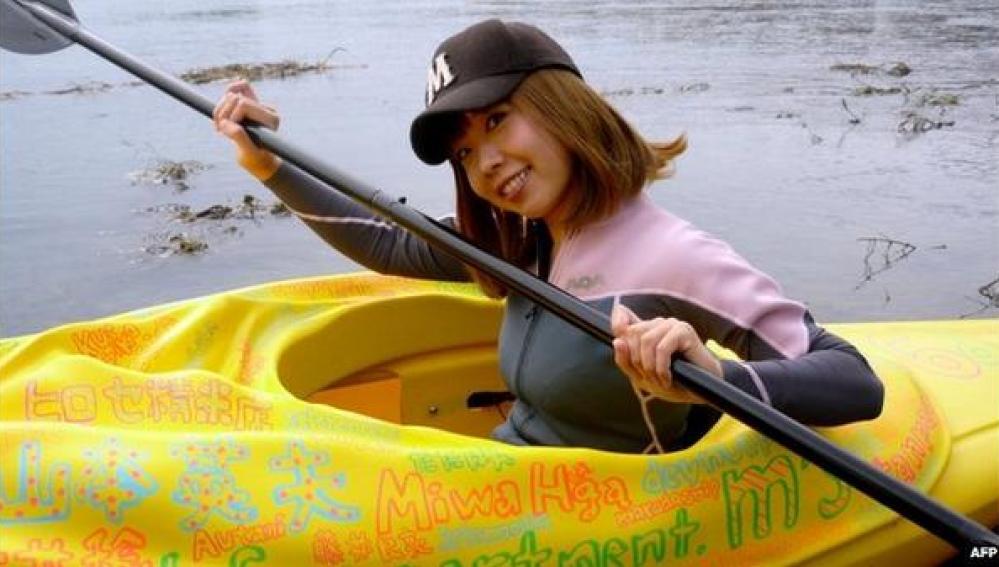 Un Kayak en forma de vagina