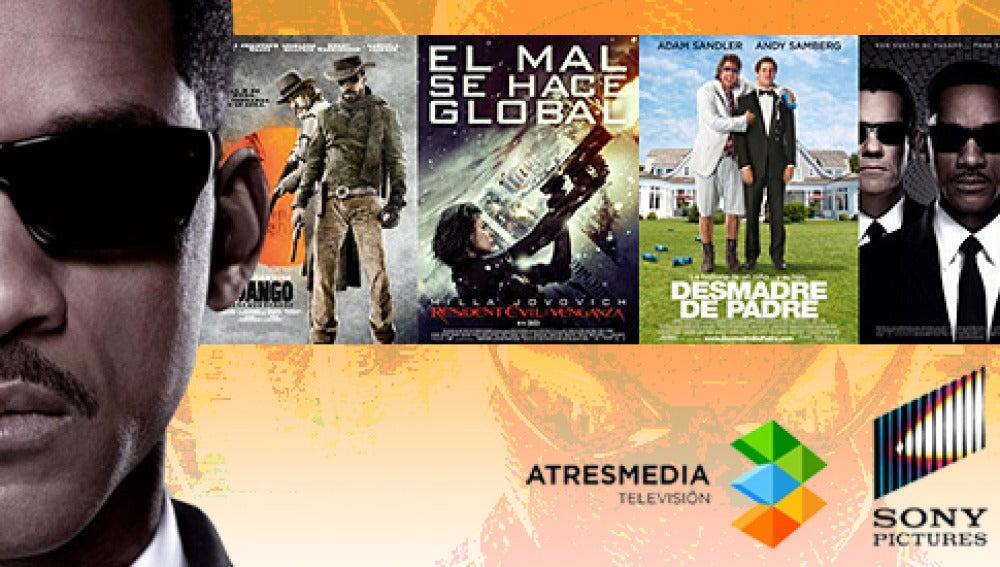 Atresmedia TV y Sony Pictures TV firman un acuerdo cinematográfico