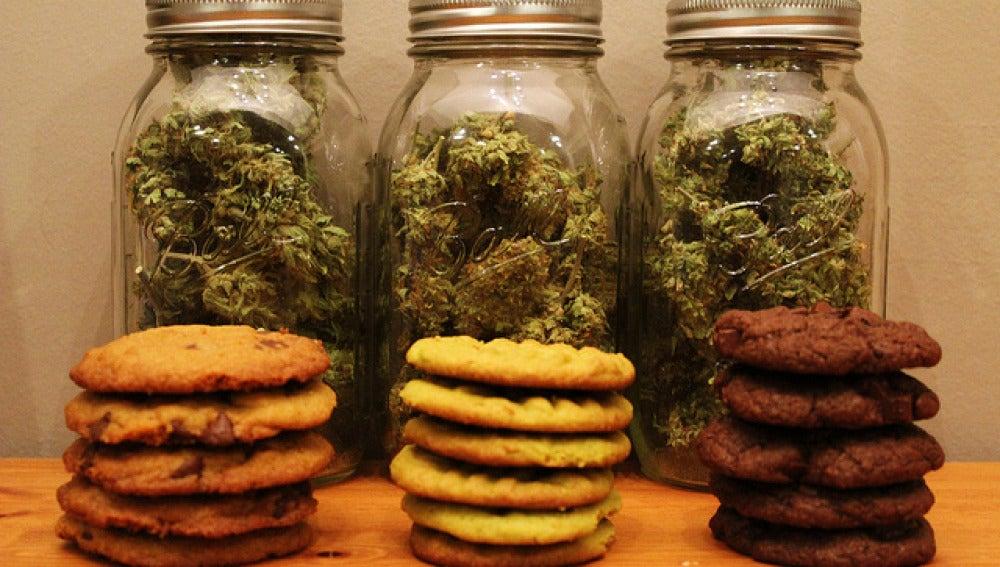 Cookies de marihuana