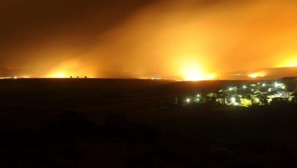 Incendios en Guadalajara