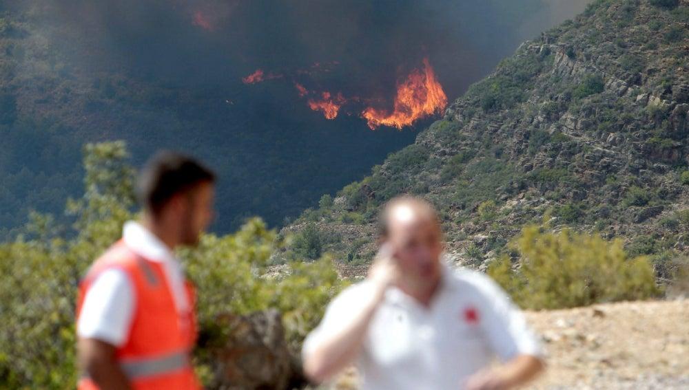 Incendio en Castellón