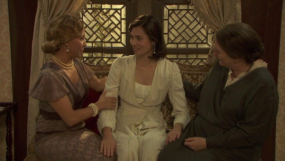 Los nervios de María ante su boda
