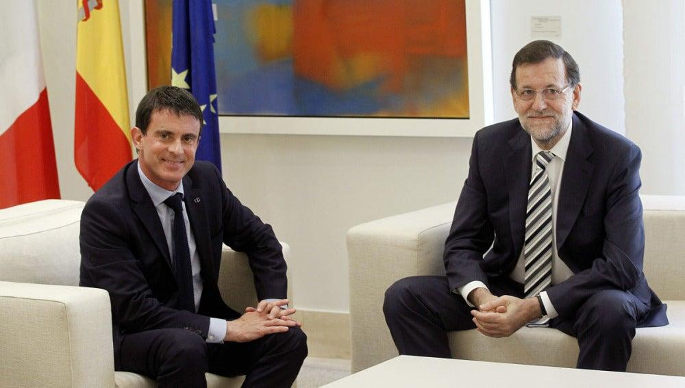 Mariano Rajoy y Manuel Valls