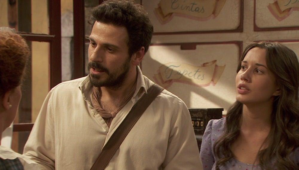 Conrado le deja las cosas claras a Dolores