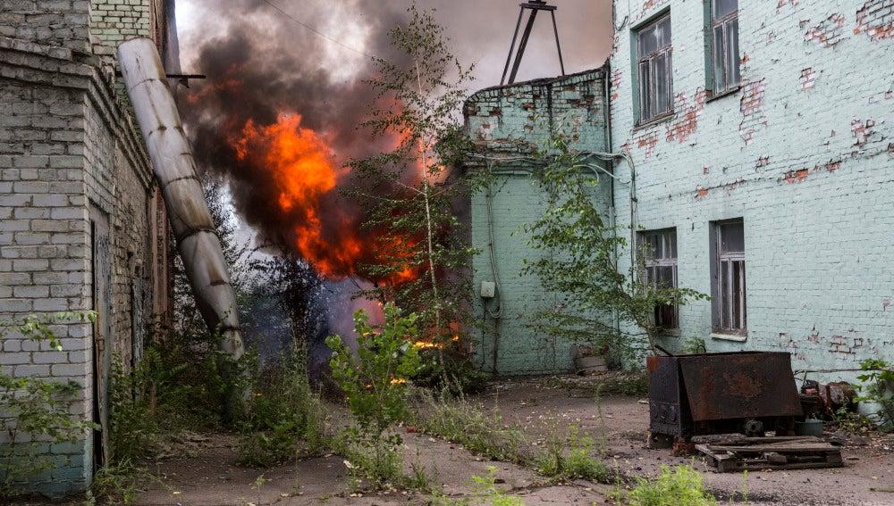 Efectos en Donetsk de la escalada de tensión entre Ucrania y Rusia