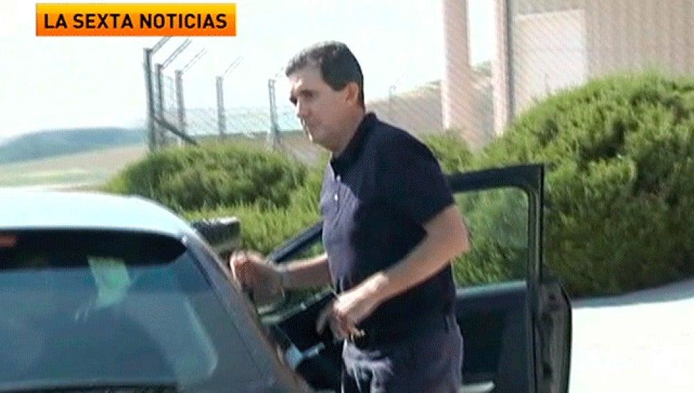Jaume Matas, en el momento de ingresar en prisión