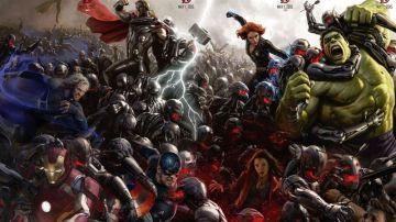 Todos los vengadores en el póster de la Comic-Con 2014