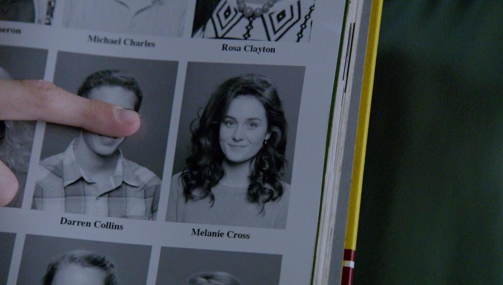 La extraña foto de Melanie