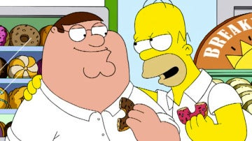 Crossover 'Los Simpson' y 'Padre de Familia'