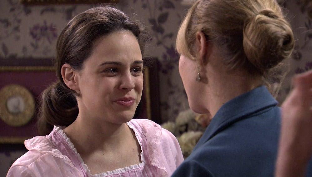Valeria miente a Pilar