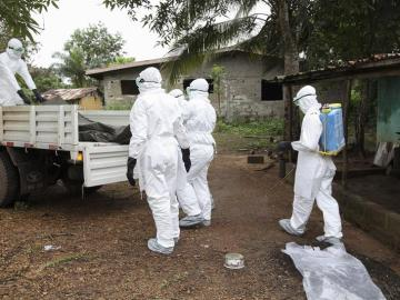 El virus del ébola se extiende por África