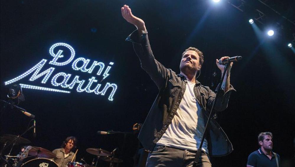 Dani Martín en Cap Roig