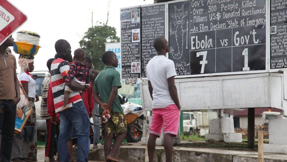 Indicaciones sobre el ébola en Liberia