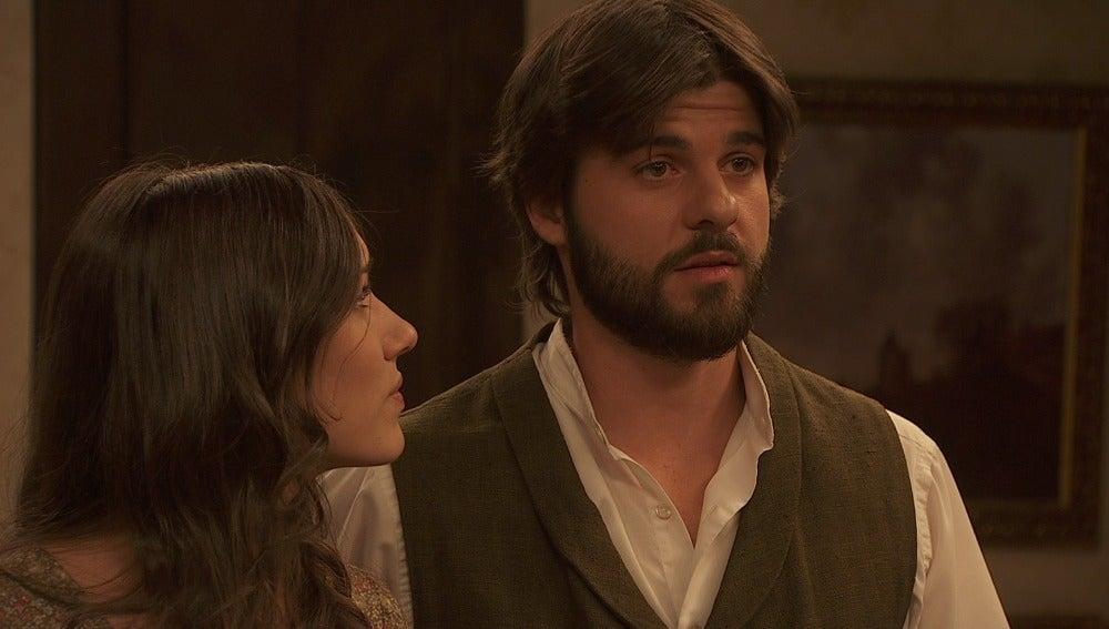 Gonzalo cuenta lo que ha descubierto sobre el pasado de Alicia