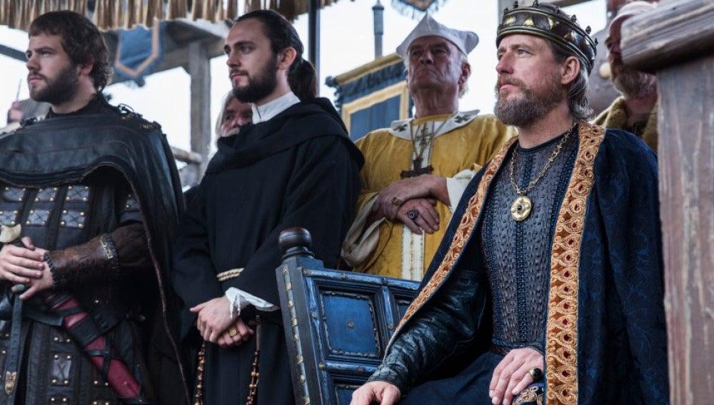 Athelstan y el Rey Ecbert