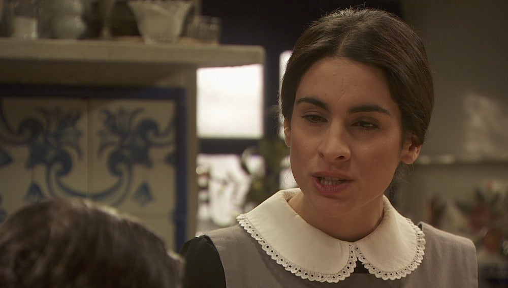Inés intimidada por Mauricio