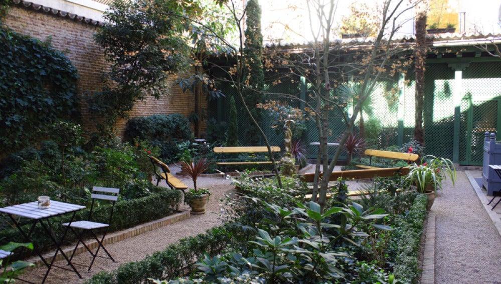El Café del Jardín del Museo del Romanticismo. Ideal para llevarte a un ligue.