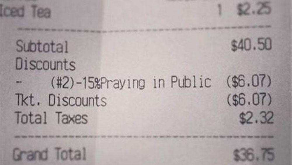 La factura de Jordan Smith