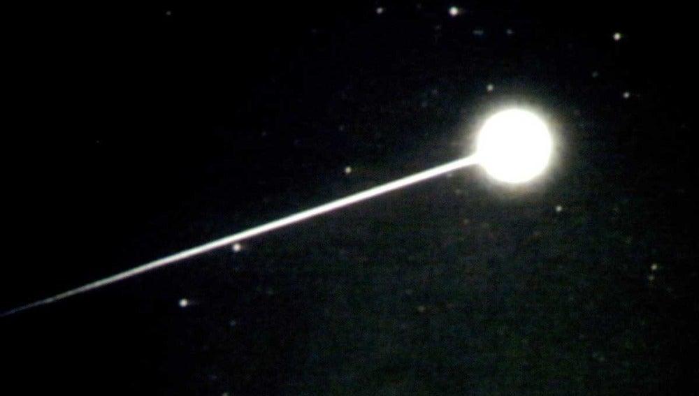 Entrada en la atmósfera de la cápsula 'Stardust'