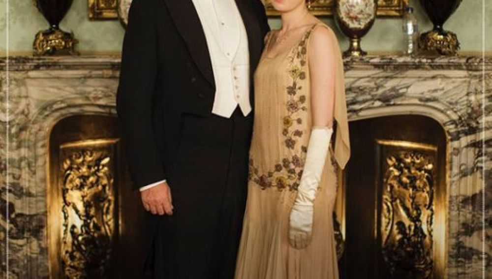 Gazapo en la foto promocional de Downton Abbey