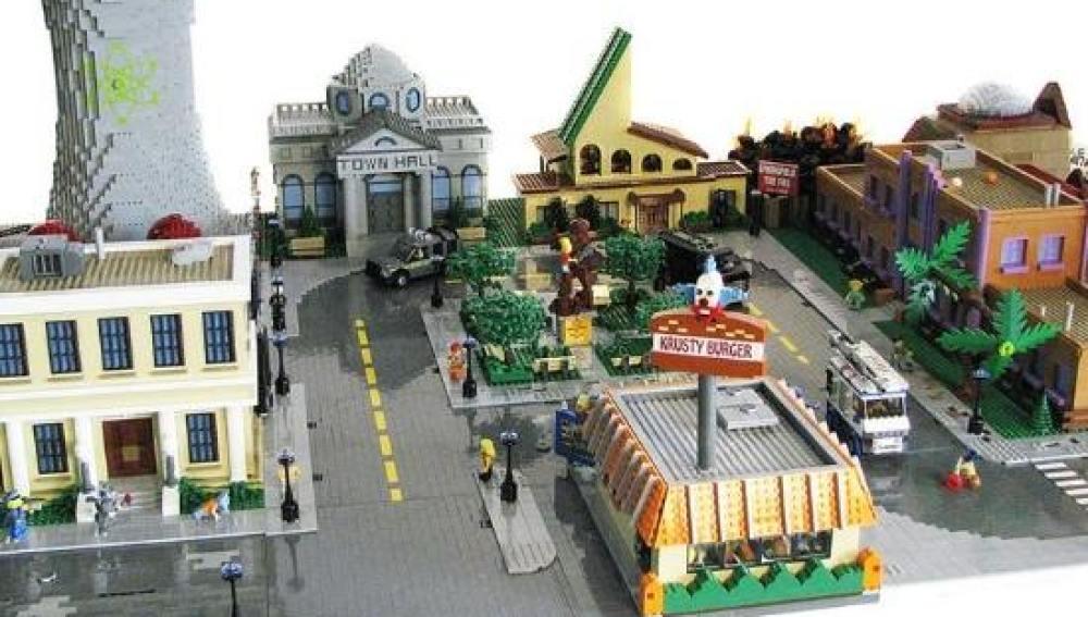Springfield de Lego