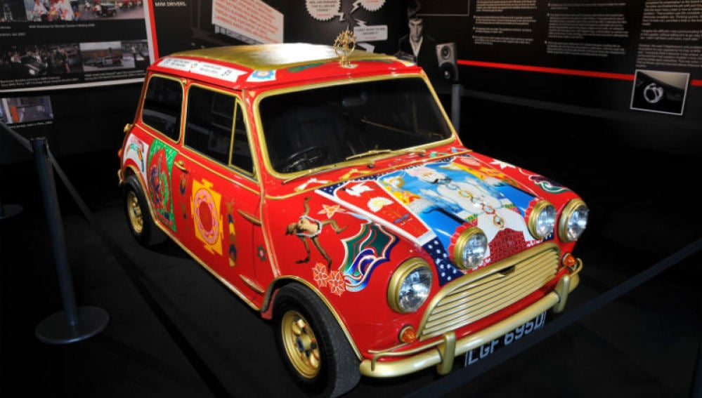 Mini Cooper de los Beatles