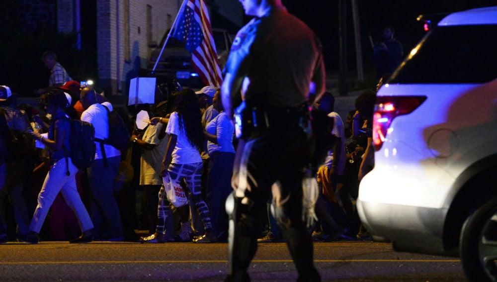 Manifestaciones en Ferguson