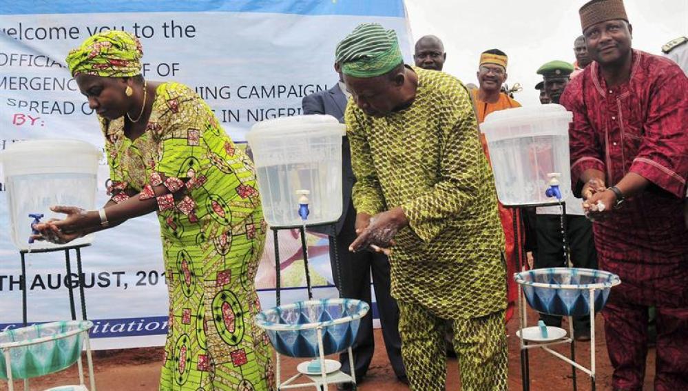 La ministra nigeriana de Recursos del Agua