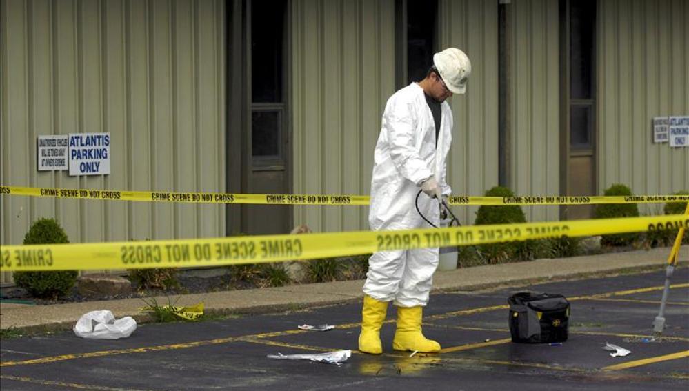 Un negro muerto por disparos de un policía en San Luis, cerca de Ferrguson