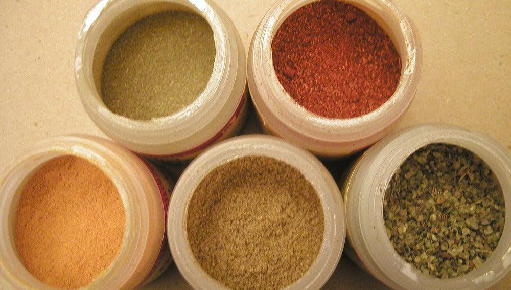 Las especias son una estupenda fuente de fibra.
