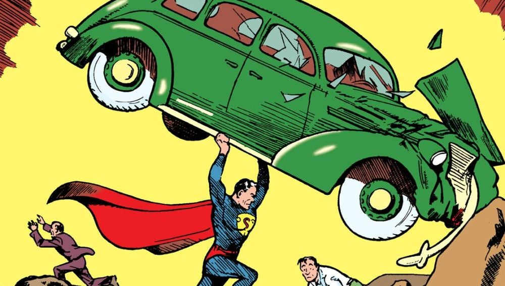 El primer cómic de Superman