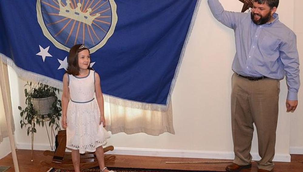 Convierte a su hija princesa de su reino