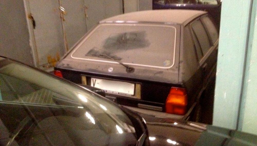 El coche de la alcaldesa Rita Barbera
