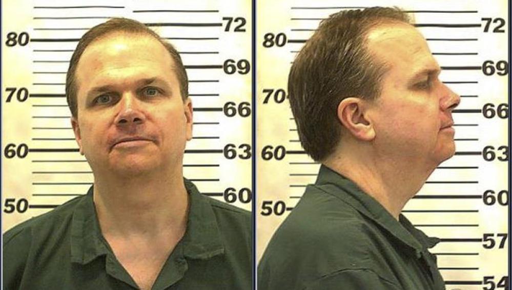 Mark David Chapman, preso por el asesinato de John Lennon