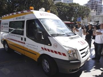 Imagen de una ambulancia en la Comunidad Valenciana