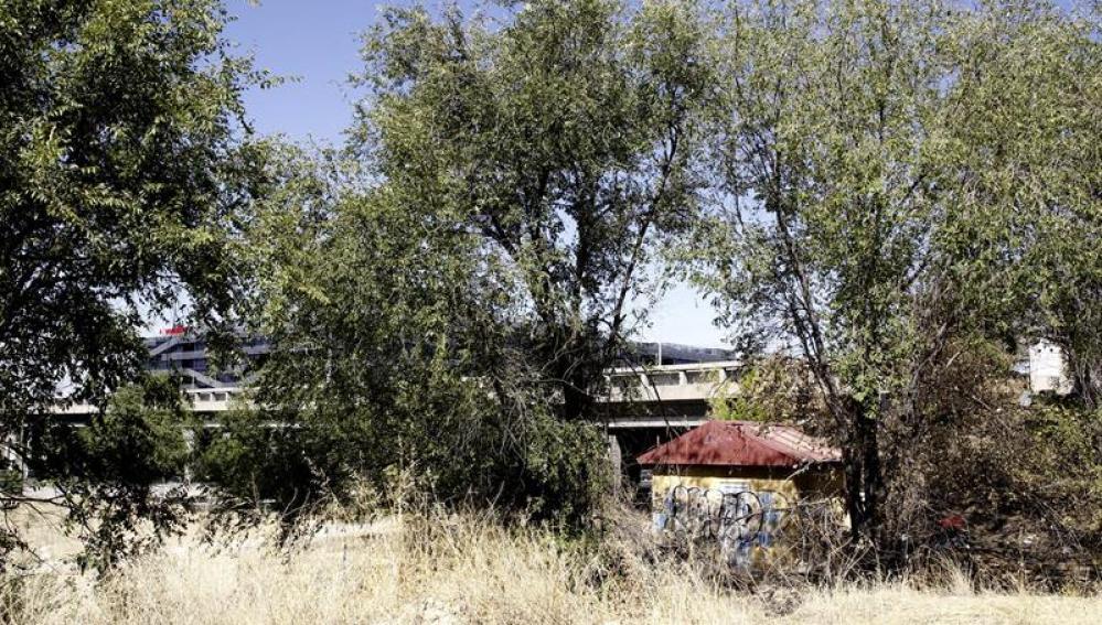 Lugar cercano donde fue encontrada la niña de siete años