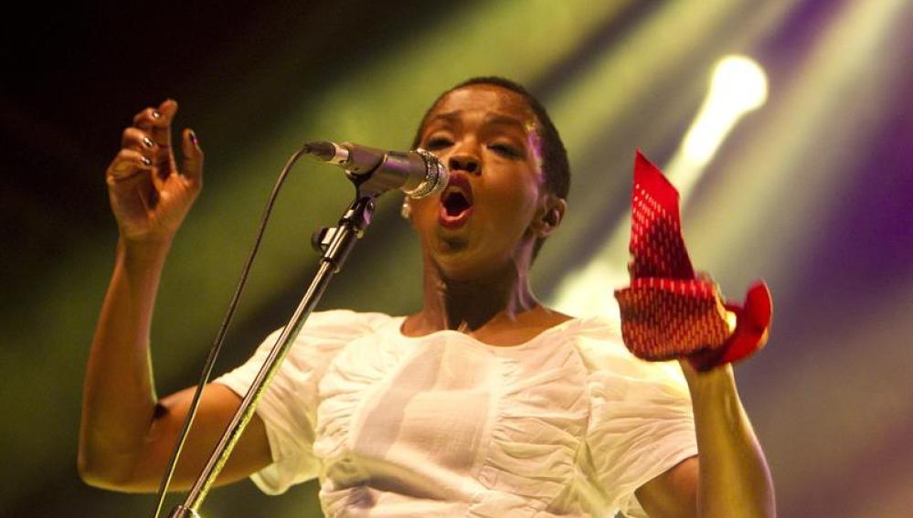 La cantante, actriz y productora Lauryn Hill