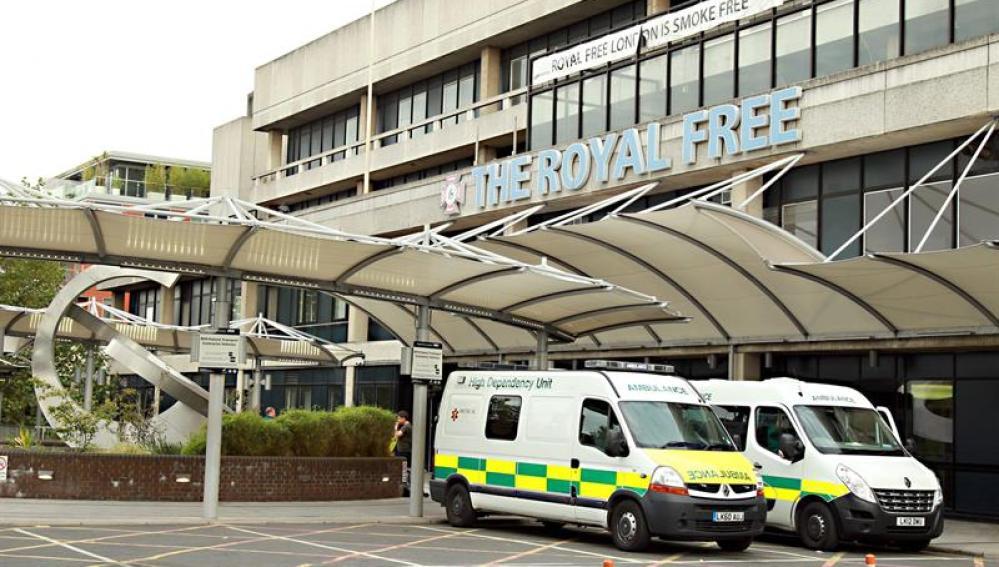 The Royal Free Hospital en Londres
