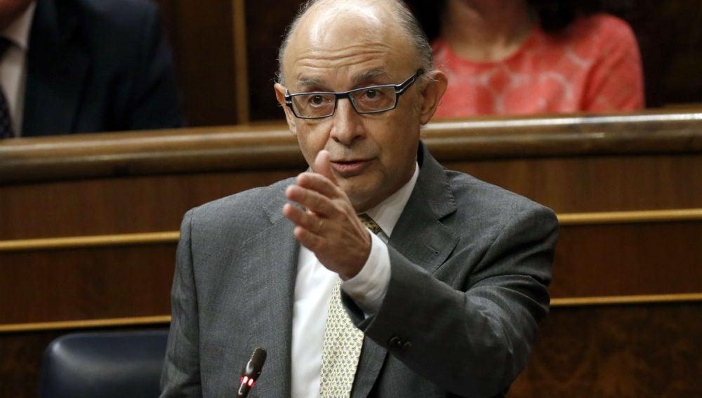 La Diputación Permanente del Congreso ha aprobado la comparecencia de Montoro