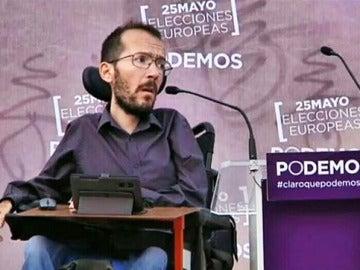 El eurodiputado de Podemos Pablo Echenique.