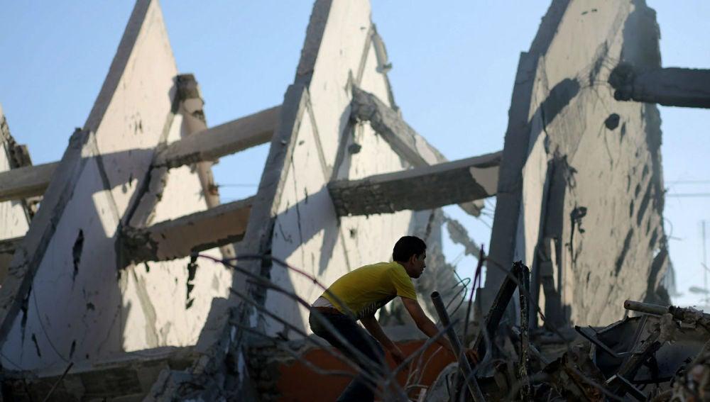 Reconstrucción de Gaza