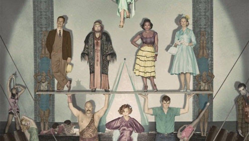 Cartel promocional 'Freak Show'