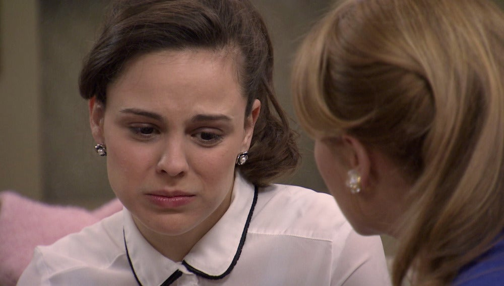 Pilar llora