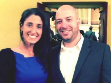 Krista D'Agostino y James Costello alcanzaron su particular meta tras la tragedia de Boston