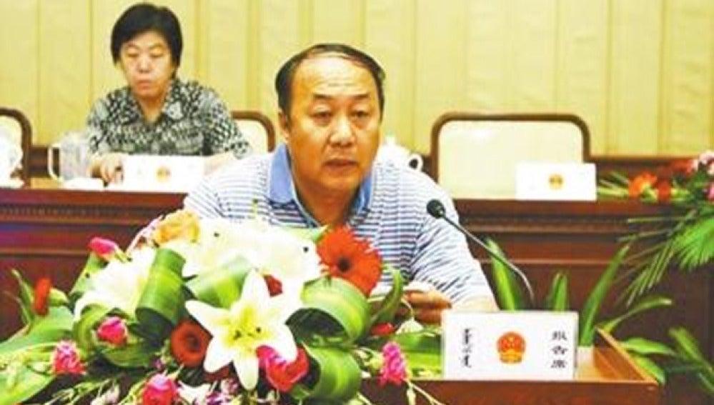 El exteniente de alcalde Bo Liangen.