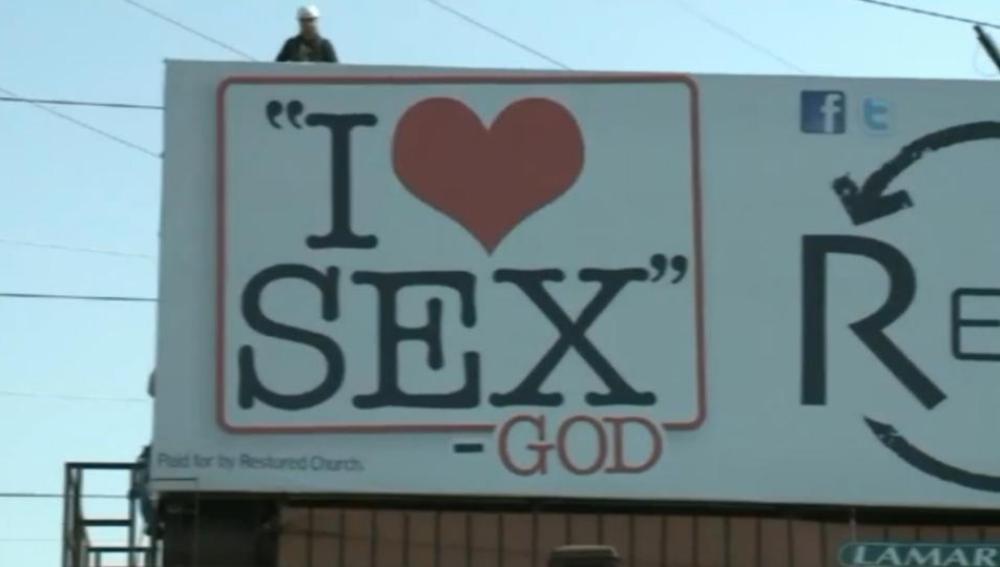 """""""Yo amo el sexo"""", por Dios"""