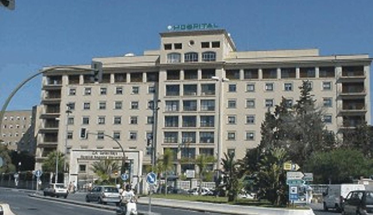 Fachada del Hospital Regional de Málaga (Archivo)