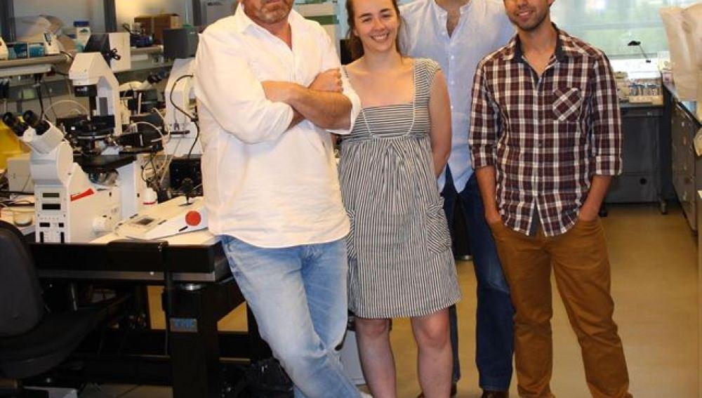 El equipo autor del estudio